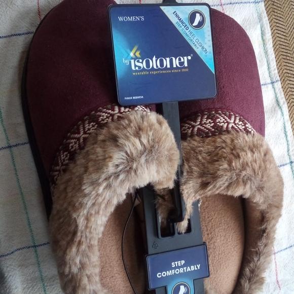 Isotoner Slippers.